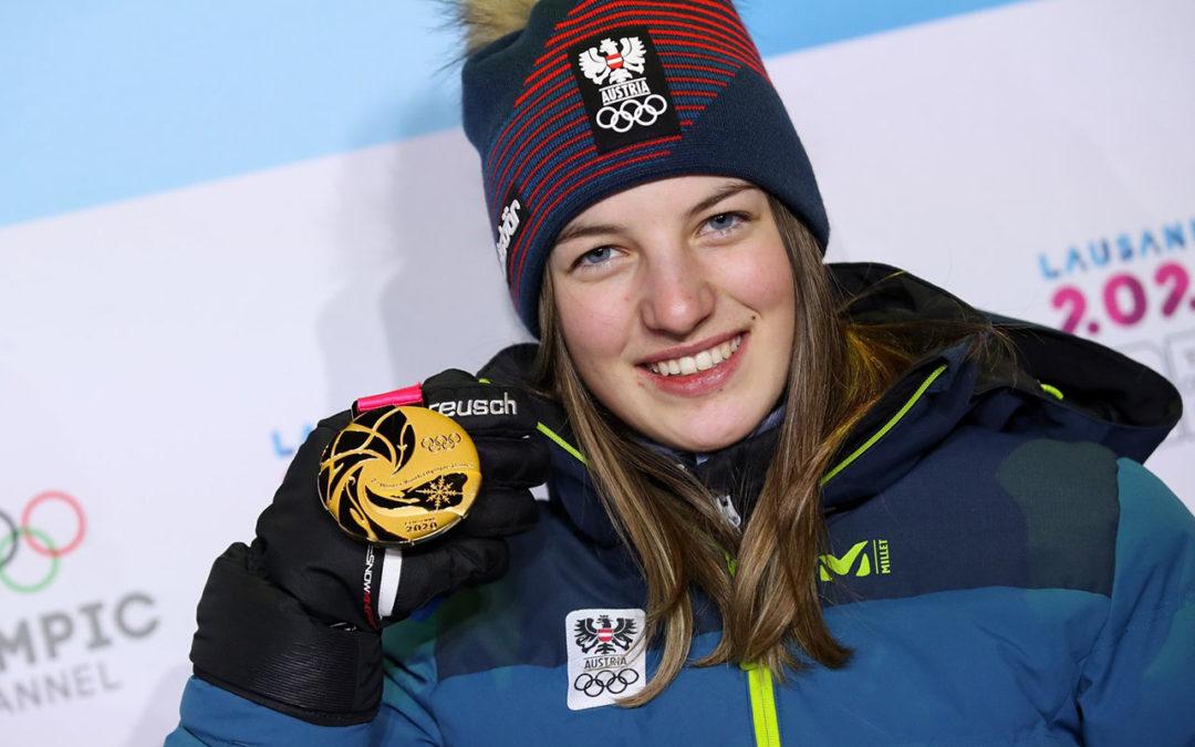 GOLD für Lisa HIRNER bei den YOUTH OLYMPIC GAMES