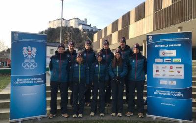 Für die Jugendolympiade in Lausanne 2020 nominiert