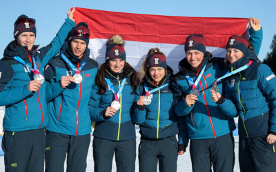 2x GOLD und 2x SILBER bei den YOUTH OLYMPIC GAMES 2020 in Lausanne!