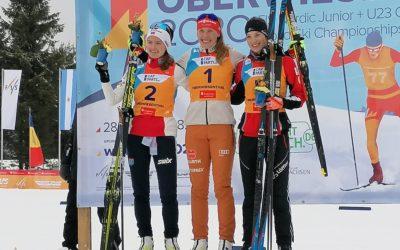 NORDISCHE KOMBINATION – 🥉BRONZE und Platz 4 für Lisa HIRNER bei der JWM in Oberwiesenthal 🇦🇹