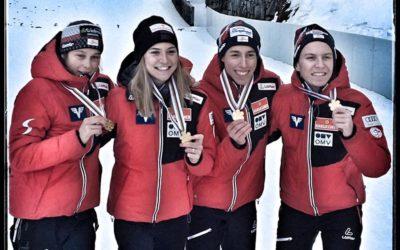 SPRUNGLAUF – 2x GOLD 🥇 u. Platz 4 für Lisa EDER bei der JWM in Oberwiesenthal 💪