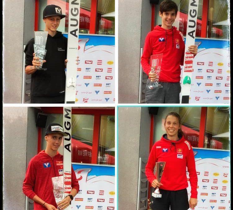 SPRUNGLAUF – Austria Cup Villach – 4x Platz 1 🏆