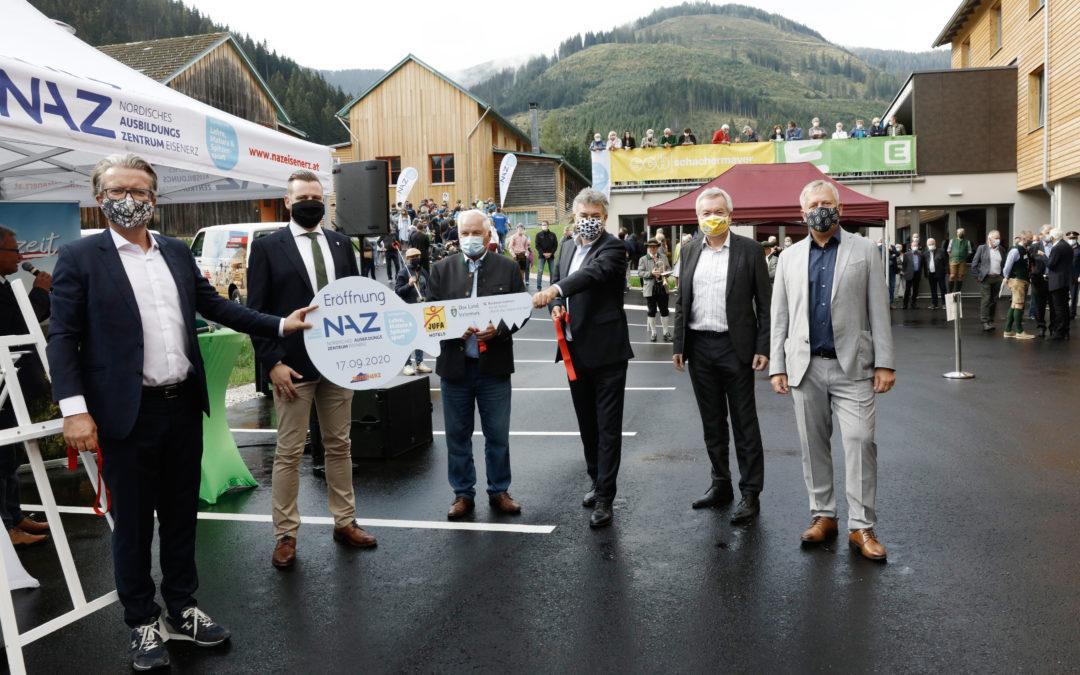 🎉 Neuer NAZ Sport-Campus in der Eisenerzer Ramsau eröffnet 🎉