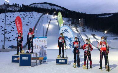 FIS COC Cup in der Erzberg Arena / Eisenerz